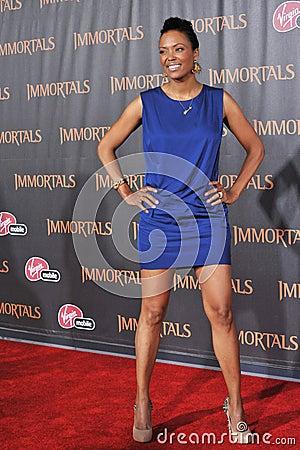Aisha Tyler, Editorial Stock Image