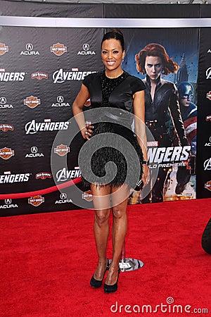 Aisha Tyler Editorial Stock Photo