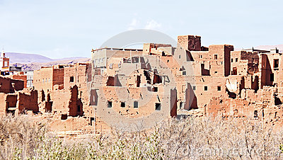 AIT ben Haddou cerca de Ouarzazate Marruecos