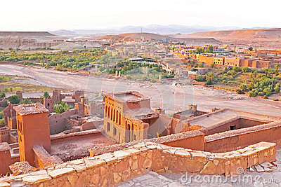 Ait ben Haddou near Ouarzazate Morocco