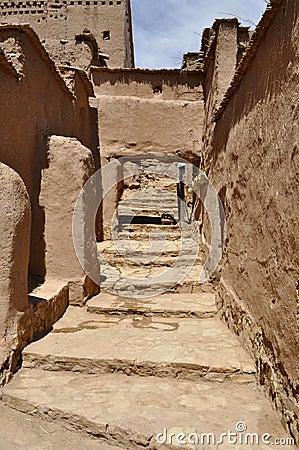 Ait Benhaddou street,Morocco