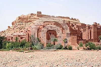Ait Benhaddu Kasbah, Morocco