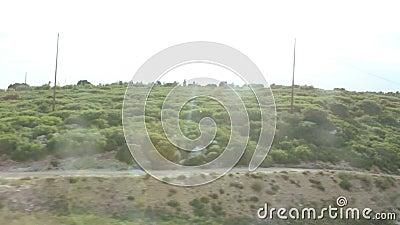 AIX-en-Провансаль увиденная от скорого поезда видеоматериал