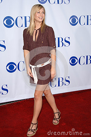 Aj Cook,AJ Cook Editorial Stock Image
