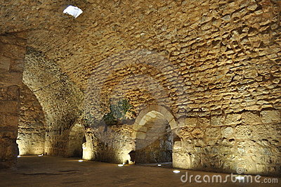 Ajloun Castle Interior