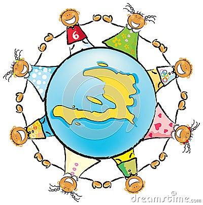 Ajude as crianças de Haiti
