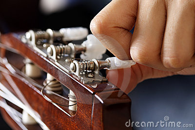 Ajustement de guitare
