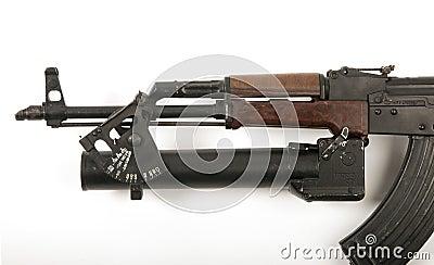 AK47 grenade launcher