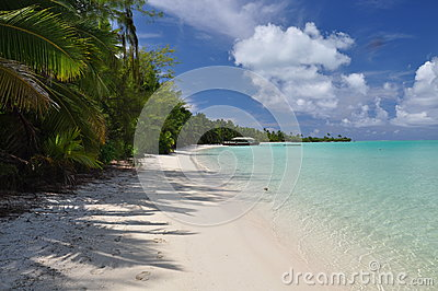 Akaiami in the Aitutaki Lagoon - Cook Islands