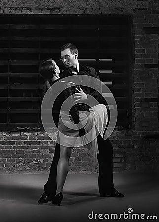 Akci tancerzy tango