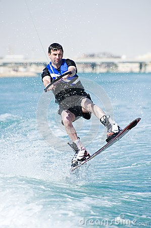 Akci wakeboarder