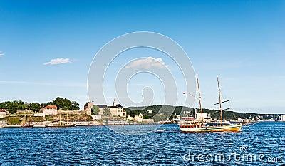 Akershus and boat