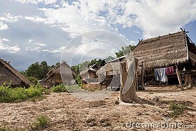 Akha village Muang Sing, Laos