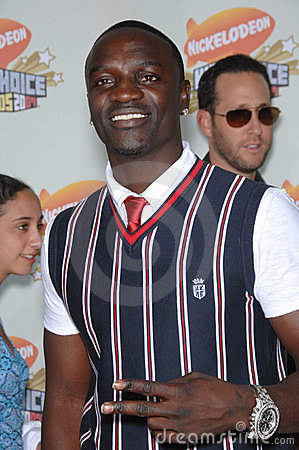 Akon Editorial Stock Photo