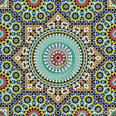 Free Akram Morocco Pattern Five Royalty Free Stock Images - 35294989