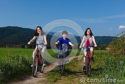 Aktive Familie