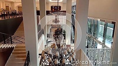 Aktiviteter på det kungliga Kuningan hotellet Jakarta, Indonesien lager videofilmer