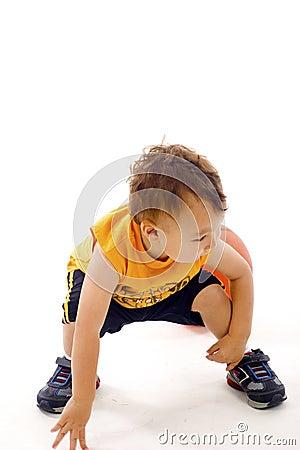 Aktywny dziecko