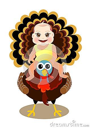 το μωρό κάθεται την Τουρκί&al