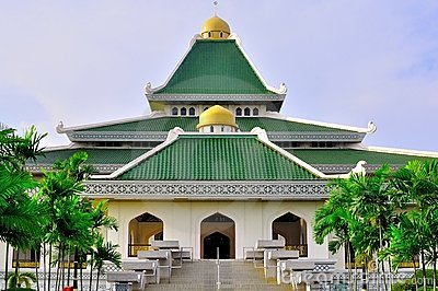Al-adzim mosque in Melaka