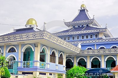 Al-alam mosque in Melaka