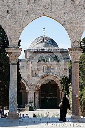 Al-Aqsa Mosque Editorial Photo