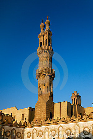 Al-Azhar University and mosque, Cairo