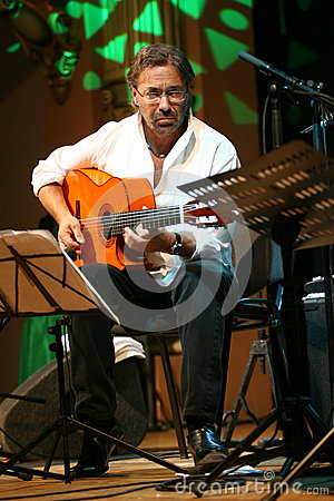 Al di Meola Editorial Stock Photo