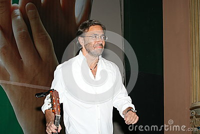 Al di Meola Editorial Stock Photo