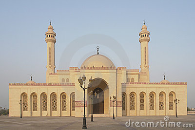 Al fateh grand mosque in bahrain royalty free stock for United international decor bahrain