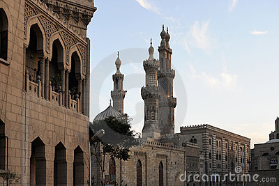 Al Hussein Mosque - Cairo - Egypt