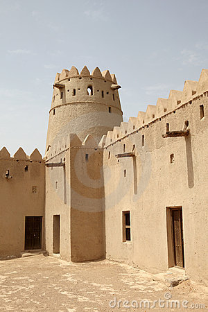 Al Jahili Fort in Al Ain, Abu Dhabi