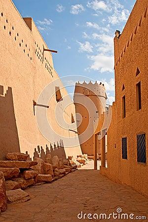 Free Al Masmak Fort Royalty Free Stock Photos - 13708288