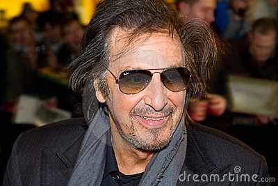 Al Pacino on Festival in Dublin Editorial Photography