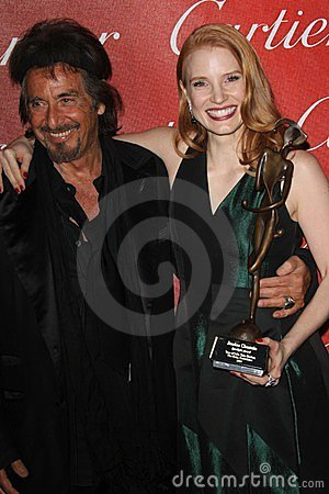 Al Pacino, Jessica Chastain Editorial Photography