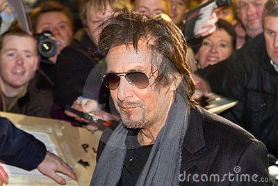 Al Pacino on premiere of Wilde Salome Editorial Stock Image