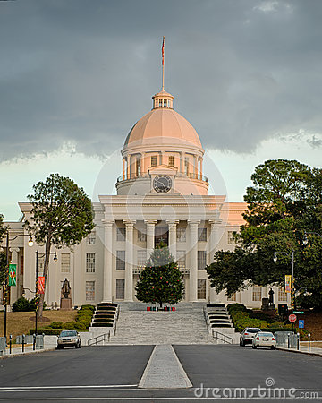 Free Alabama State Capitol Royalty Free Stock Images - 48945479