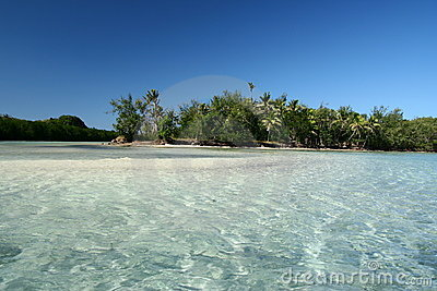 Alabaster beach in Fiji