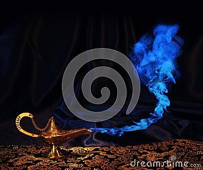 Aladdin genie lamp - no genie