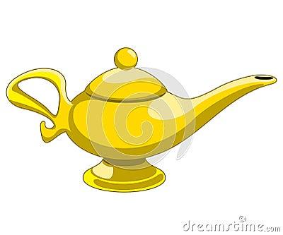Aladdin's Lamp Stock Image - Image: 34178201