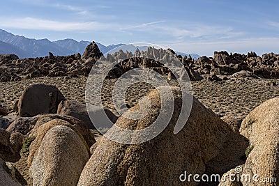 Alamba Hills, rock detail