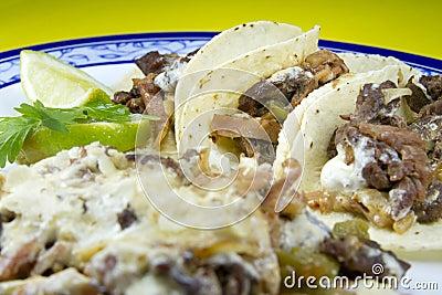 Alambre Mexican Dish