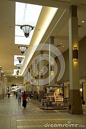 Alameda Seattle de Northgate Imagen de archivo editorial