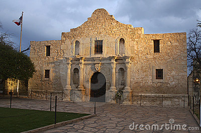 The Alamo at Dusk