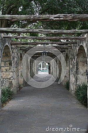Alamo Side Walkway