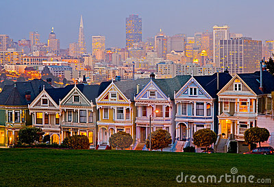 Alamo Square in San Francisco