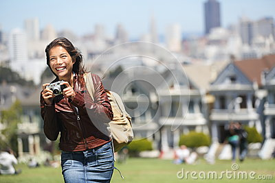 Alamo Square San Francisco Tourist