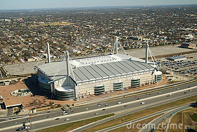 Alamodome Aerial View