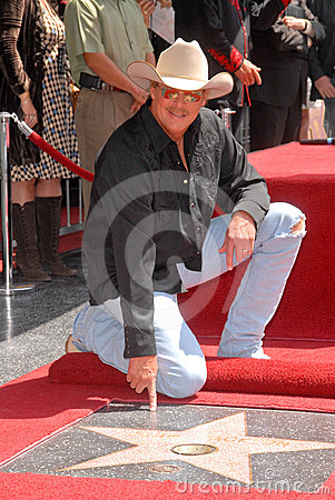 Alan Jackson Editorial Image