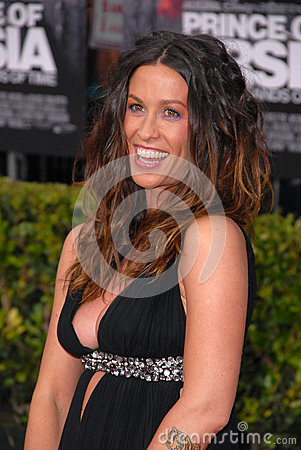 Alanis Morissette Editorial Stock Photo